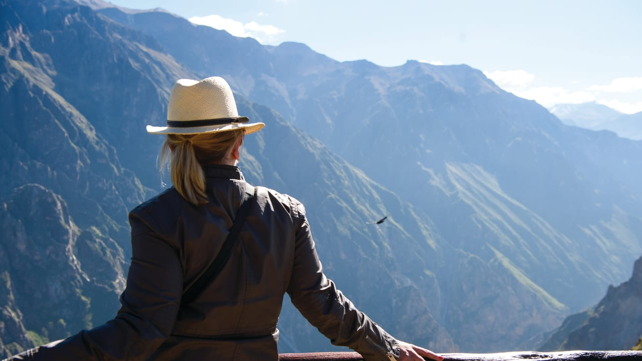 Watching Andean Condors in Colca Canyon