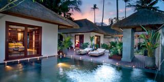 Deluxe pool villas at Belmond Jimbaran Puri