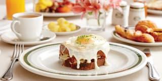 breakfast at Belmond Mount Nelson Hotel