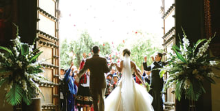 wedding ceremony at monasterio cusco