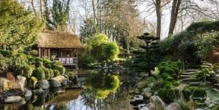 The Japanese Garden at Belmond Le Manoir aux Quat'Saisons