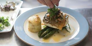 Garden dining, Venice, Belmond Hotel Cipriani