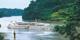 Cruising in Myanmar