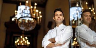 Executive Chef Alessandro Cozzolino, La Loggia, Villa San Michele Florence