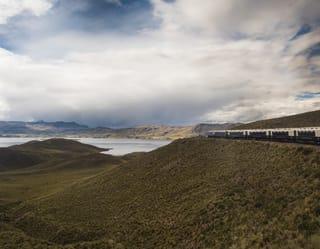 Belmond Train in Peru