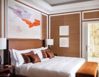 Ele Pack's landscape art at Belmond Cadogan Hotel