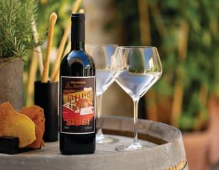 Belmond Castello di Casole 'Sì di Sì' private-label signature wine