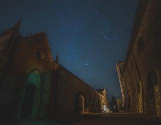 night skies above tuscany