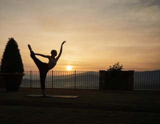 Yoga in Toscana