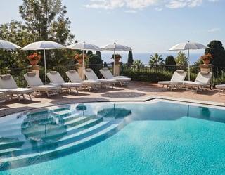 Grand Hotel Timeo Pool