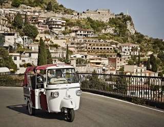Tour in Ape in Sicilia