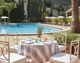 El restaurante de la piscina