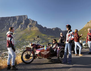 Sidecar excursion along the Western Cape