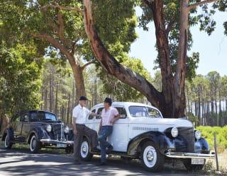 Vintage car tour in Cape Town