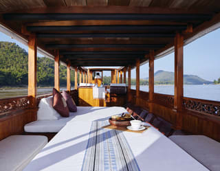 Sunset Cruise on the Mekong