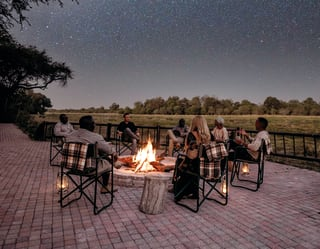 Stargazing on Safari in Botswana