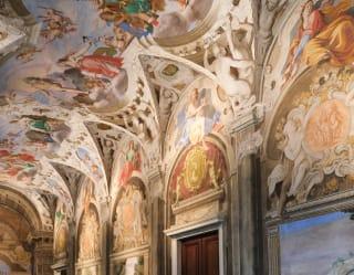 dettaglio di un palazzo genovese