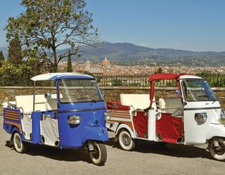 Firenze in Ape Calessino