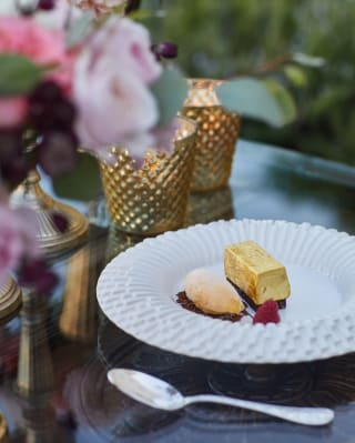 Food at Belmond Caruso Hotel