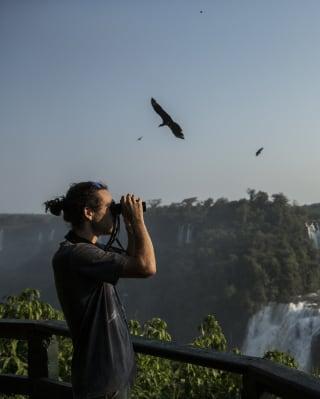 Caminatas al alba, Iguazú