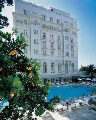 Copacabana Palace outdoor pool