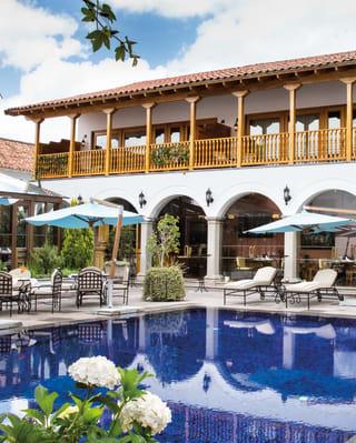 Pool at Belmond Palacio Nazarenas