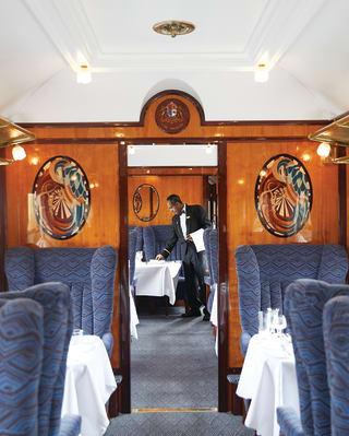 Phoenix Carriage on the British Pullman train