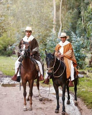 Passeio a cavalo no Vale Sagrado