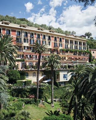 Exterior view of the Splendido Hotel