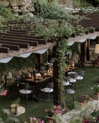 the leonardo table at villa san michele